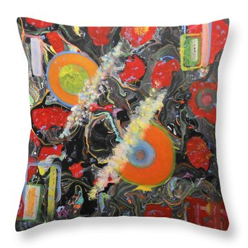 Zomby Woof Throw Pillow