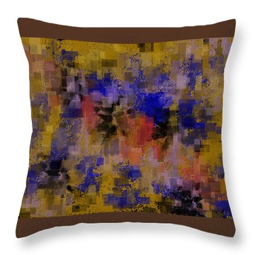 Zonal Warfare Throw Pillow