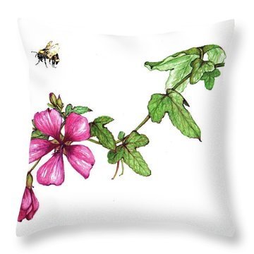 Zoom Throw Pillow by Heidi Kriel