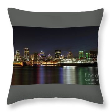 Zoom Montreal Throw Pillow
