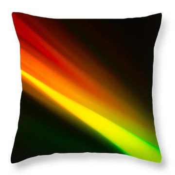 Throw Pillow featuring the photograph Zooming by Greg Collins