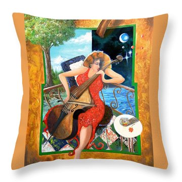 Zoraida Throw Pillow