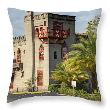 Zorayda Castle Throw Pillow