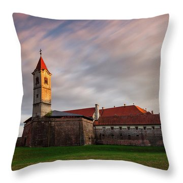 Zrinskis' Castle Throw Pillow