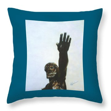Zues Throw Pillow