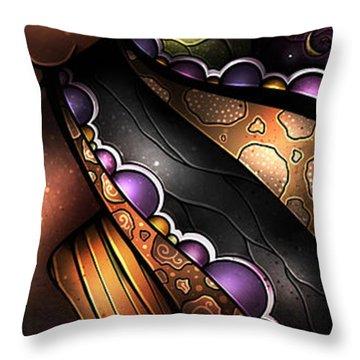 Zulu Love Throw Pillow