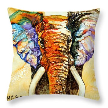 Zulu Throw Pillow