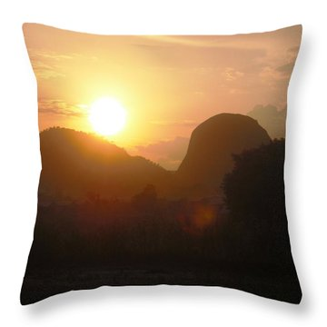 Zuma Rock, Abuja Nigeria Throw Pillow