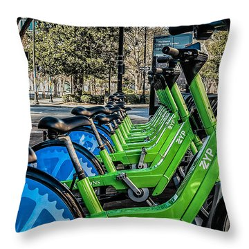 ZYP Throw Pillow by Phillip Burrow