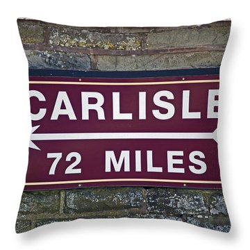 06/06/14 Settle. Period Destination Board. Throw Pillow