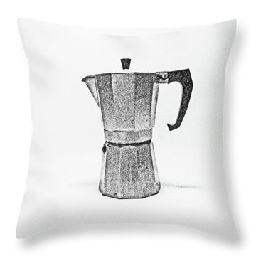 08/05/19 Cafetiere Throw Pillow