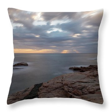 Sunrise On The Costa Brava Throw Pillow