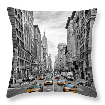 Fifth Avenue Throw Pillows