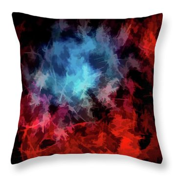 Abstract 53 Throw Pillow