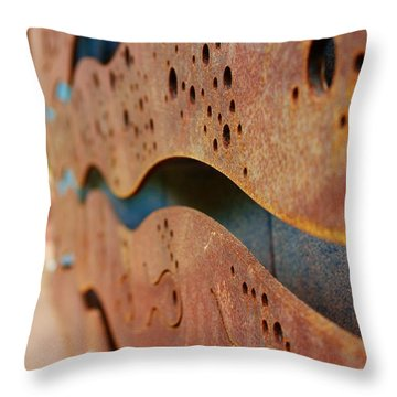 1 Abstract Lake Patricia Sign 2 Throw Pillow