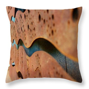 1 Abstract Lake Patricia Sign 3 Throw Pillow