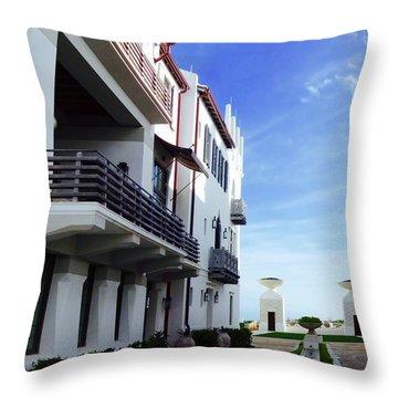 Alys Architecture Throw Pillow