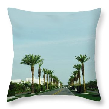 Alys Beach Entrance Throw Pillow