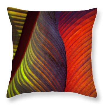 Banana Leaf 8602 Throw Pillow