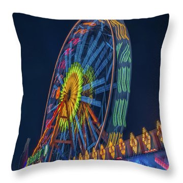 Big Wheel-2 Throw Pillow