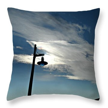 Collingwood's Clouds Throw Pillow