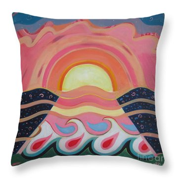Creating Unity Throw Pillow