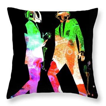 Punk Rock Throw Pillows