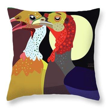 Date Night Jp Throw Pillow