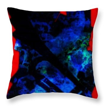 Dead Horn Midnite Throw Pillow