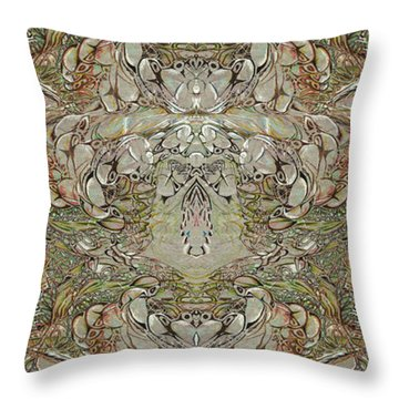 Desert Wall Throw Pillow