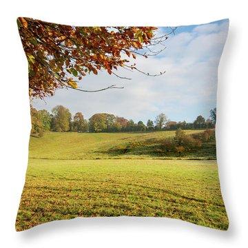 Easby Autumn Throw Pillow
