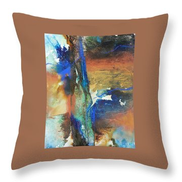 Electric And Warm Throw Pillow