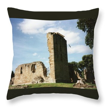 Elgin Cathedral Throw Pillow