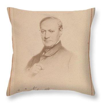 Eugene Joseph Verboeckhoven Throw Pillow