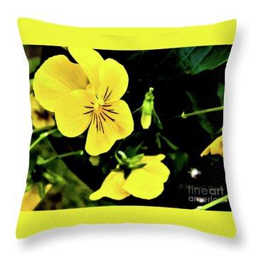 Flowers Hanging No. Hgf17 Throw Pillow