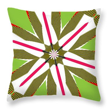 Flowers Number 5 Throw Pillow