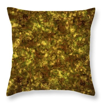 Forest Canopy 2 Throw Pillow