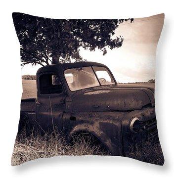 Forgotten 2 Throw Pillow