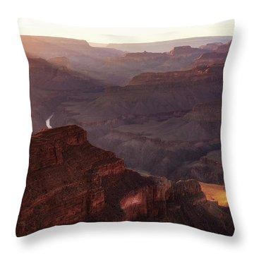Glorious Light Throw Pillow