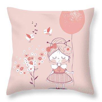 Birthday Gift Throw Pillows