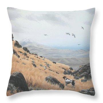 High Desert Dreams Throw Pillow