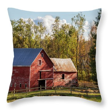 Hudson Valley Ny Countryside Throw Pillow