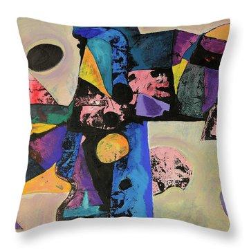 Intense Thrust Throw Pillow