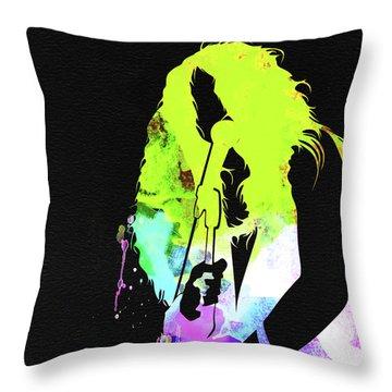 Janis Watercolor Throw Pillow
