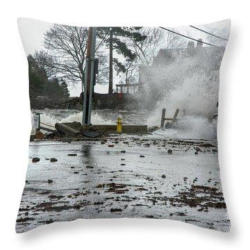 Jeep Splash Throw Pillow