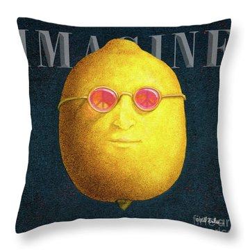 John Lemon... Throw Pillow