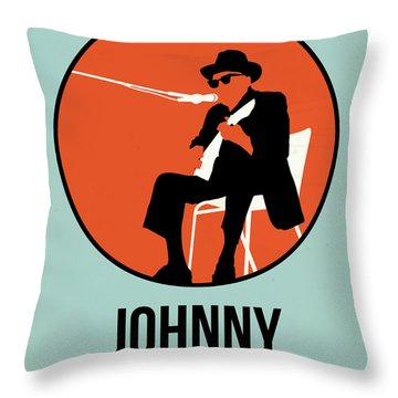 Johnny Poster 1 Throw Pillow