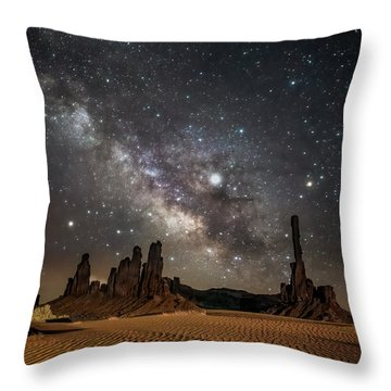 Jupiter's Staircase Throw Pillow