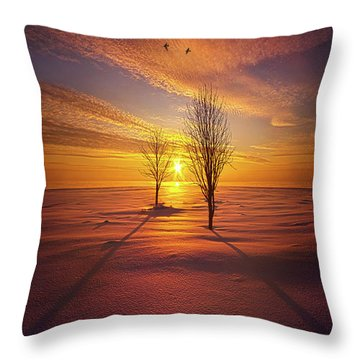 Just You And I Throw Pillow