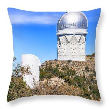 Kitt Peak Observatory Az Throw Pillow